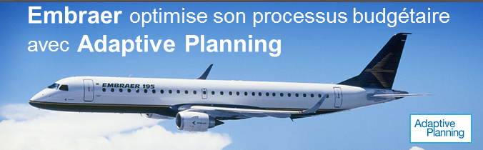 Embraer choisit Adaptive Planning